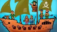 ¡La Isla del Tesoro está siendo atacada! Los Piratas Increíbles quieren cavar por todas partes, buscando tesoros escondidos. Usa tu único cañón para detenerlos – ¡apunta con cuidado […]