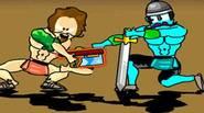 Una primera parte original del famoso juego «Swords and Sandals». Crea tu héroe y lucha como gladiador en la arena. Entrena tus habilidades, mejora tus armas y armadura […]