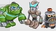 Has salvado al pequeño robot del terrible destino; ahora es el momento de ayudarlo y vengarte de sus perseguidores. Arma y mejora tu equipo de combate robótico y […]