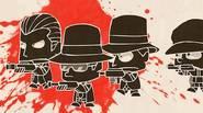 Tu batalla favorita entre ninjas y mafiosos vuelve…. ¡por tercera vez! Controla al escuadrón ninja y defiende tus posiciones contra bandas armadas. Controles del juego: Teclas de flecha […]