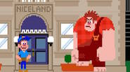 Un divertido juego que ha sido presentado en la famosa película «Wreck-It Ralph». Como el héroe homónimo, tu objetivo es arreglar todas las ventanas rotas por el enfadado […]