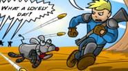 Un impresionante juego inspirado en la legendaria serie de juegos Fallout. Los invasores te han atacado y han secuestrado a Scrappy, tu perro. Fuiste salvado por uno de […]