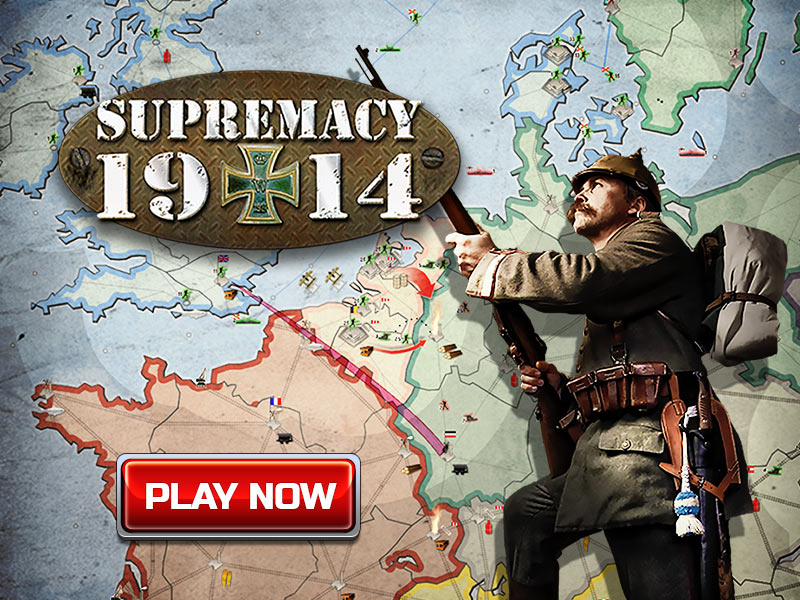 SUPREMACY 1914 FREE ONLINE GAME