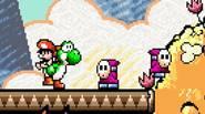Este juego es una leyenda… volvamos al pasado, cuando Mario era un bebé y los hermanos de Yoshi se ocupaban de él. Explora la tierra mágica en la […]