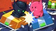 Vaya, ¡qué juego de Nitrome, el viejo maestro de los juegos de pixel art! Tu objetivo es mantenerte vivo, montando un vehículo pequeño sobre una pista de 8 […]