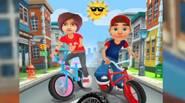 ¡Un fantástico paseo en BMX para todos los fans de los juegos 3D! Elige tu personaje: niño o niña y esquiva los obstáculos, realiza trucos locos, recoge monedas […]