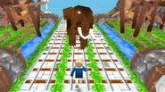 Un intrigante juego de carreras sin fin inspirado en Minecraft en el que tendrás que escapar de los mineros zombis, esquivar a los enemigos, recoger oro y gemas […]