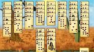 Un intrigante solitario con el tema de los nativos americanos. Elimina las cartas creando combinaciones de 2 cartas que suman hasta 13. Los ases cuentan como 1, mientras […]