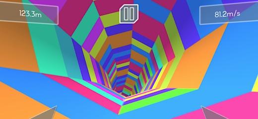 Un loco juego en 3D en el que tu tienes que ir lo más lejos posible dentro del tubo psicodélico 3D, evitando los obstáculos giratorios. El ritmo es […]
