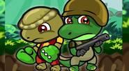 Conoce a Dino Squad, un equipo de dos dinosaurios que tiene habilidades únicas! Tu objetivo es recoger monedas de oro y luchar contra los malvados tiranosaurios en este […]