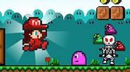 Una divertida remezcla del clásico juego Super Mario World. La Reina Isabel ha sido capturada por el Monstruo de la Calavera del Mal. Sus hijas deben encontrarla – […]