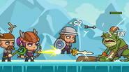 ¡El valiente equipo de Shorties ha vuelto! Tienes que participar en muchas batallas y luchar contra las fuerzas de la oscuridad: trolls, goblins y dragones. Ya sea con […]