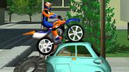 La tercera parte de este emocionante juego. Maneja tu bicicleta a través de pistas urbanas extremas con varios obstáculos como autos, cajas, etc. Completa todas las pistas tan […]