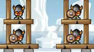 Elimina a todos los vikingos golpeando sus torres de defensa con piedras de tu catapulta. Se preciso porque tiene una cantidad limitada de rocas por cada nivel. En […]